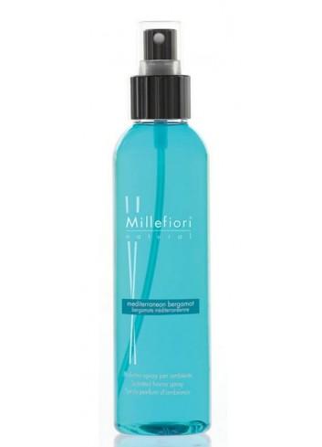 Spray per ambiente 150 ml Bergamotto Mediterraneo 7SRBM Natural Millefiori Milano