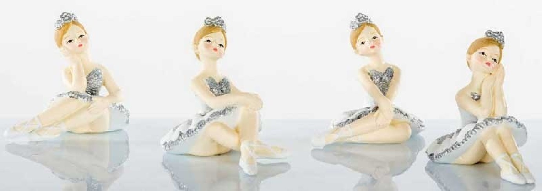 Ballerina seduta da appoggio 4 modelli assortiti B9258 Kharma Living