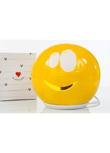 Lampada da comodino Smile Ø 20 cm D6239 Cuore di Luce Cuorematto