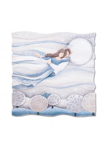 Formella Sogno Blu zaffiro 50 x 50 cm 110577bz Cartapietra