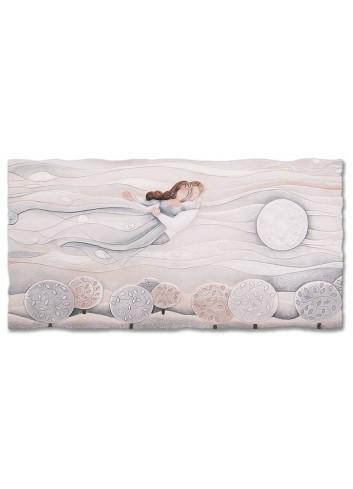 Quadro Sogno Neutro 90 x 45 cm 110977nr Cartapietra
