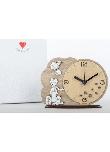 Orologio da appoggio Principino 14 x 11 cm D6308 Cuordiprincipe Cuorematto