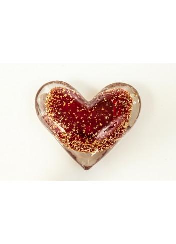 Cuore d'amore color rosso D5939 Nodo d'amore Cuorematto