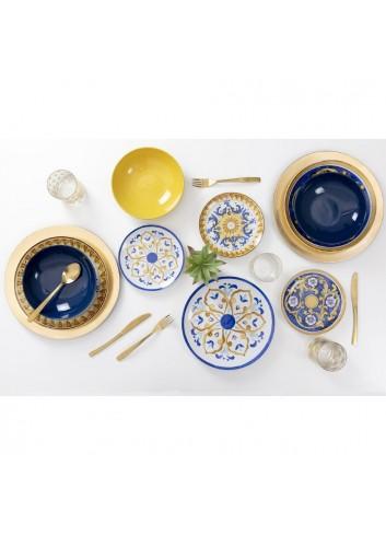 Servizio Tavola Sicilia 18 pezzi in porcellana e gres 2193719 Villa D'este Home Tivoli