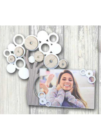 Metal and wood Tree of life Photoframe + strass LIFE-01-1-3 Life 2020 Series Negò