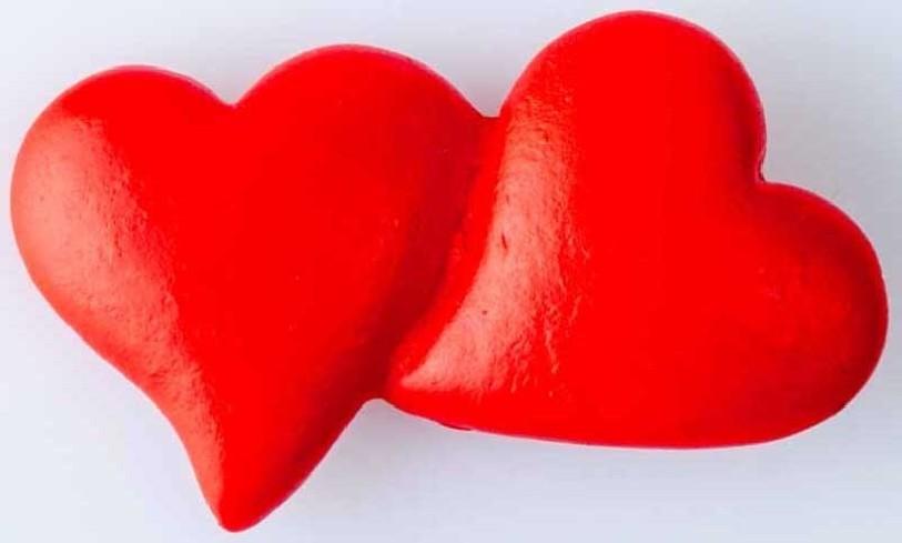 Magnete cuoricini rossi B9189 Kharma Living