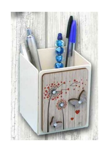 Wooden penholder with colored print Shower heads + strass ARI-10 Series Shower Heads 2020 Negò