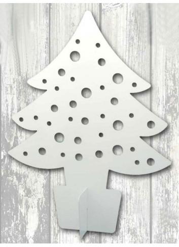 White metal big Christmas tree + strass NA-ALB-04 2020 Christmas Series Negò