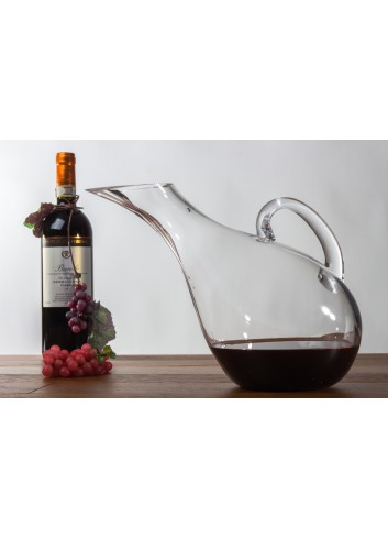 Glass Decanter for wine 2100 ml 30 x 20 H. H3103 Kharma Living