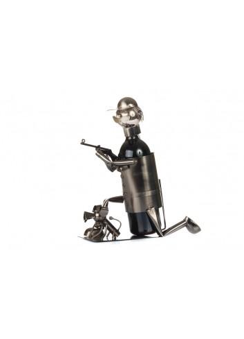 Metal Hunter bottle holder 32 x 13 x 19 cm E3463 Kharma Living