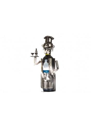 Metal Sommelier bottle holder 33 x 12 x 16 cm E3329 Kharma Living