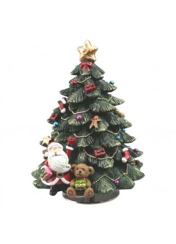 Music box Christmas tree Fir H. 15 cm