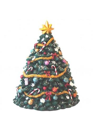 Music box Small Christmas tree H. 13,5 cm