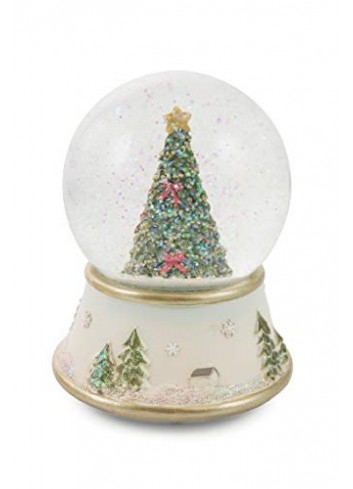 Musical Snow Bowl - Christmas Tree Ø 11 cm 2424887 Villa d'Este Home Tivoli