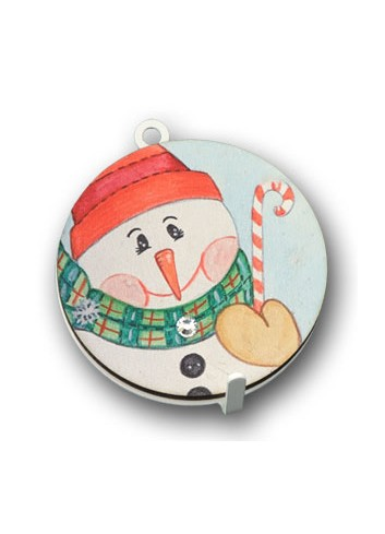 Metal hanger with colored print Snowman NA-APD-05 Christmas Series 2020 Negò