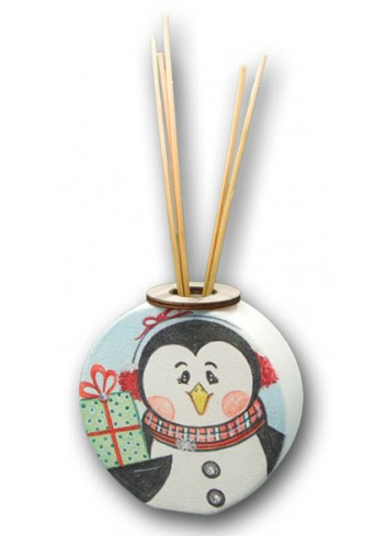 Ceramic Home Fragrance with colored print Penguin NA-PRO-01 Christmas Series 2020 Negò