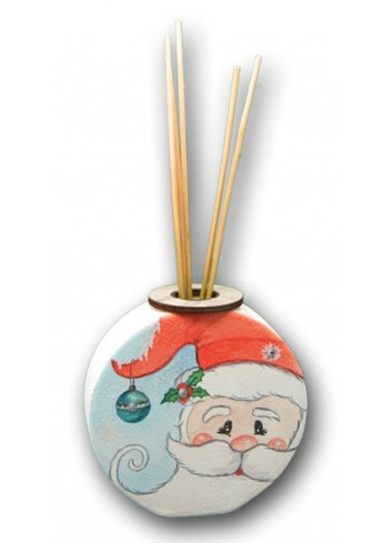 Ceramic Home Fragrance with colored print Santa Claus NA-PRO-04 Christmas Series 2020 Negò
