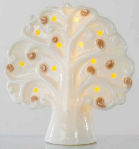 Albero della vita in ceramica con luce led A7700 - A7701 Kharma Living