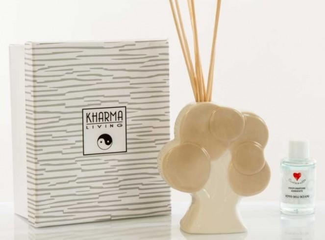 Profumatore Albero della vita in ceramica A7669 Kharma Living