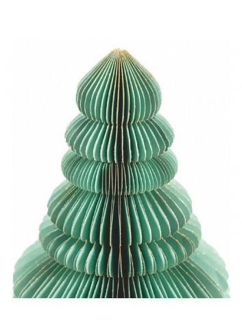 Origami Albero natalizio in carta verde H. 50 cm 5900524 Villa d'Este