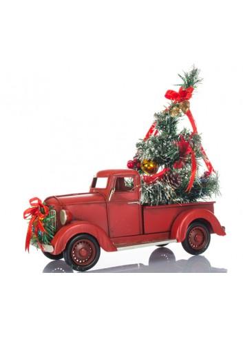 Camion di Natale con Albero L. 32 cm E3414 Kharma Living