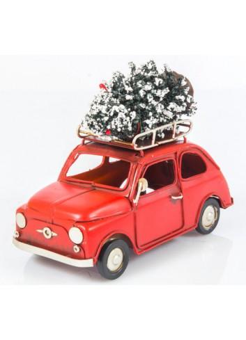 Auto Led con Albero di Natale L. 16 cm E3412 Kharma Living