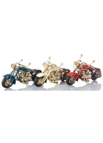 Moto Harley 3 colori assortiti E3401 Kharma Living