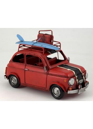 Auto 500 rossa L. 31 cm E3099 Kharma Living