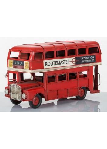 London Bus L. 25 cm E3094 Kharma Living