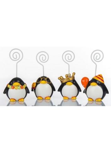 Pinguino Memoclip 4 soggetti assortiti C2002 Kharma Living