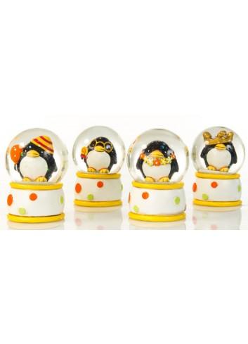 Pinguino Sfera 4 soggetti assortiti C2004 Kharma Living