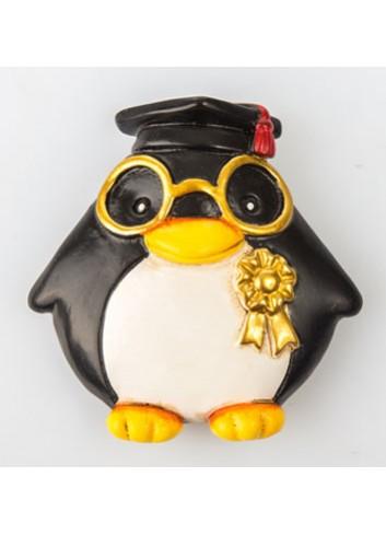 Pinguino Laureato Magnete C2008 Kharma Living