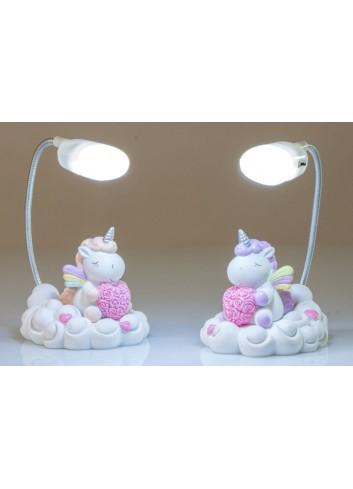 Unicorno Lampada Led 2 modelli assortiti C2000 Kharma Living