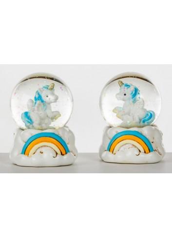 Unicorno Sfera Cielo 2 modelli assortiti C1986 Kharma Living
