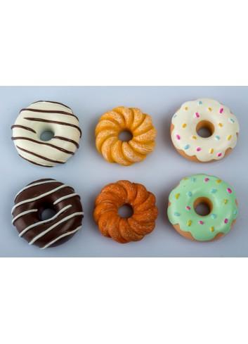 Magneti Donuts 6 modelli assortiti B9273 Kharma Living