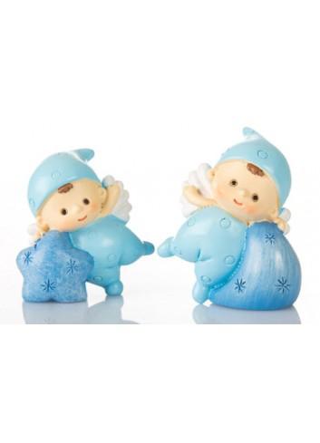 Baby Angelino Mini Azzurro 2 soggetti assortiti B9346 Kharma Living