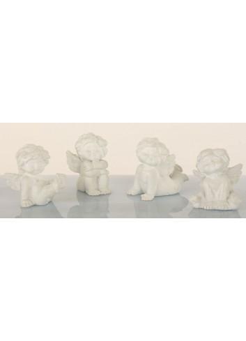 Angelo bianco capriolante 4 soggetti assortiti B9102 Kharma Living