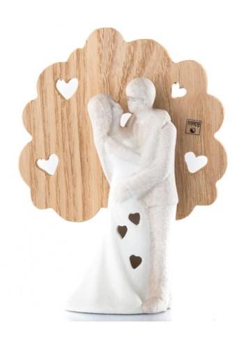 Sposini in gres e legno B9376 Kharma Living