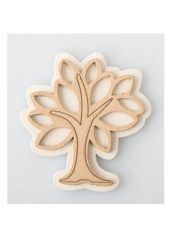 Applicazione in legno Albero della Vita G3599 Kharma Living