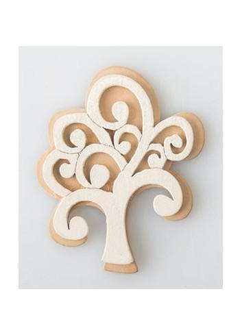Applicazione in legno Albero della Vita G3598 Kharma Living