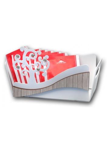 Vaschetta in metallo con applicazione Albero della vita + strass CNZ-14-16 Serie Albero Casa Negò
