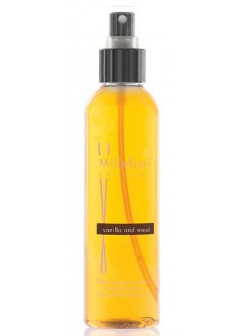 Spray per ambiente 150 ml Vanilla & Wood 7SRMG Natural Millefiori Milano