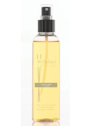 Spray per ambiente 150 ml Mineral Gold 7SRMG Natural Millefiori Milano