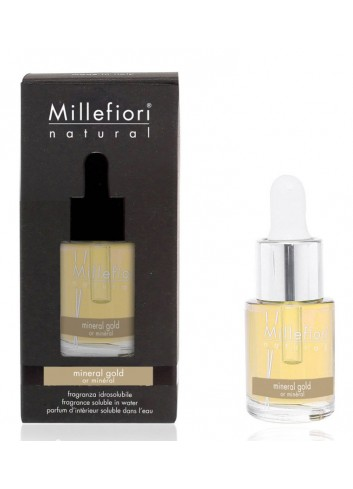 Fragranza idrosolubile 15 ml Mineral Gold 7FIMG Hydro Natural Millefiori Milano