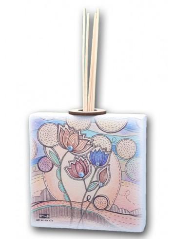Profumatore in ceramica con stampa Summer + strass SUM-02-04-01 Serie Summer Negò