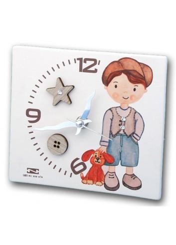 Orologio in ceramica con stampa Bimbo NIK-03-06 Serie Bimbo 2020 Negò