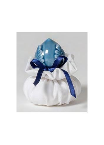 Tappo bottiglia Pigna blu + sacchettino B2801/A16 I Pomi Ad Emozioni
