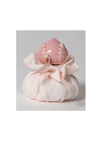 Tappo bottiglia Pigna rosa + sacchettino B2801/A2 I Pomi Ad Emozioni