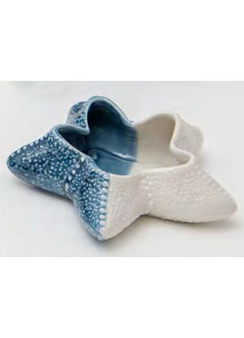 Stella marina bianco blu in porcellana A7903-4-5 Oceano Ad Emozioni