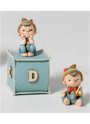 Pinocchio piccolo 2 modelli assortiti + sacchetto 130573-A Pinocchio Ad Emozioni